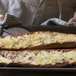 Crusty Bread Pizza