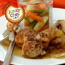 Baked Chicken with Gravy