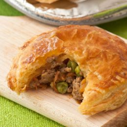Minced Beef and Vegetable Pies