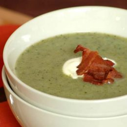 Broccoli Soup with Bacon