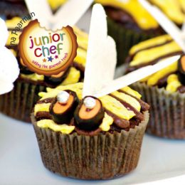 Bumble Bee Fairy Cakes
