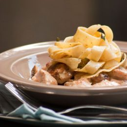 Buttered Tagliatelle with Sage