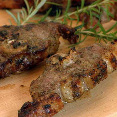 Braaied Lamb Chops