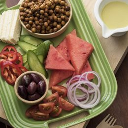Chickpea and Watermelon Salad