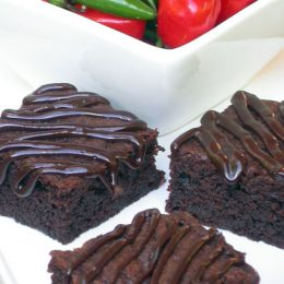 Chilli Chocolate Chip Brownies