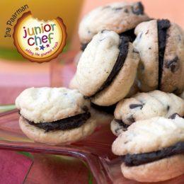 Choc Chip Sandwich Cookies