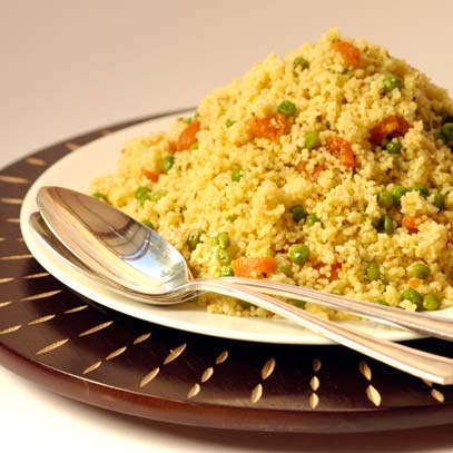 Couscous with Apricot and Cumin
