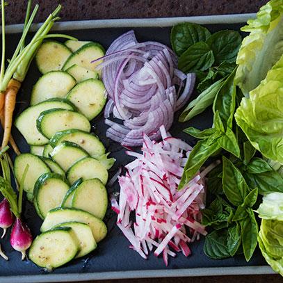 Deconstructed Garden Salad