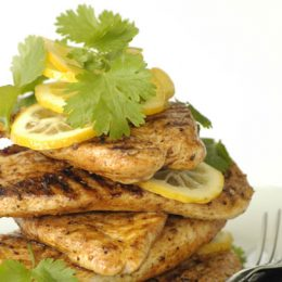 Flame Grilled Cajun Chicken Breasts