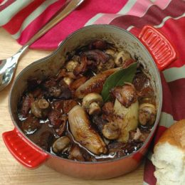 French Beef Stew with Shallots