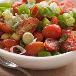 Fresh Tomato and Spring Onion Sambal