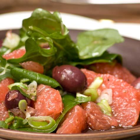Grapefruit Salad with Rocket