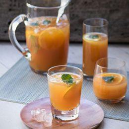 Iced Rooibos Tea with Orange