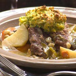 Irish Stew with Browned Dumplings
