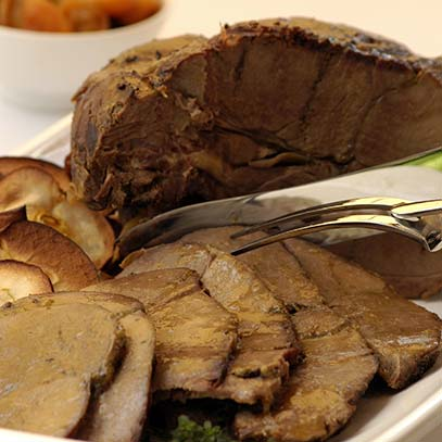 Leg of Springbok with Dried Fruit