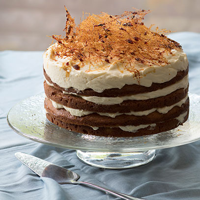 Lemon Mousse Layer Cake