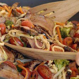 Marinated Steak Stir-Fry