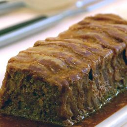 Meat Loaf with Bacon and Built-in Sauce