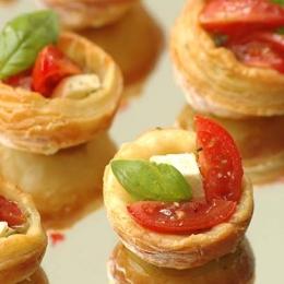 Mini Pesto Tarts