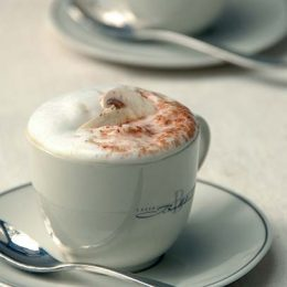 Mushroom Soup Cappuccino
