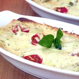 Mushroom and Spinach Cannelloni