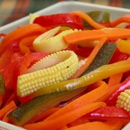 Mustard Pickled Vegetables