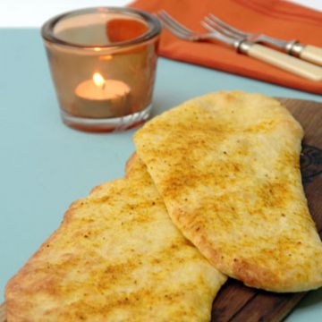 Naan Bread with Masala Spice