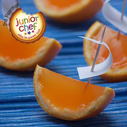 Orange Jelly Wedges