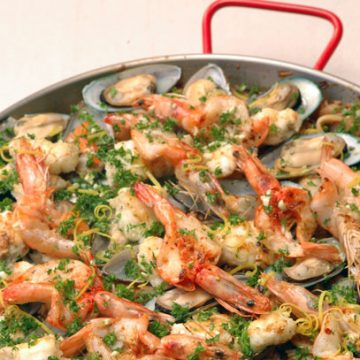 Paella in the Style of Barcelona