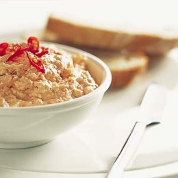 Peppery Feta Dip with Sundried Tomatoes