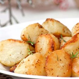 Roast Potatoes - cooked from frozen