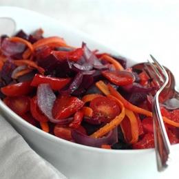 Roasted Red Salad