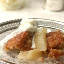 Royal Apple Pudding