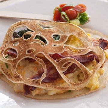 Self-help Pancake Buffet