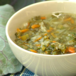 Slimmer's Vegetable Broth with Cabbage