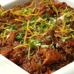 Slow Cooked Oxtail with Orange and Lemon Gremolata