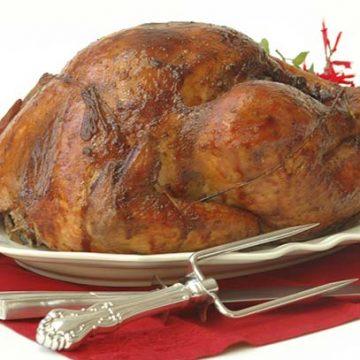 Slow Roast Turkey with Chorizo