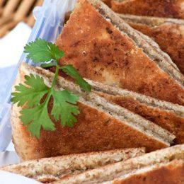Spiced Lamb Pita Breads