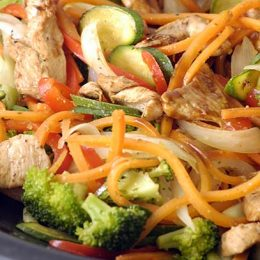 Stir-Fry Chicken with Vegetables