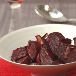 Sweet & Sour Roasted Beetroot