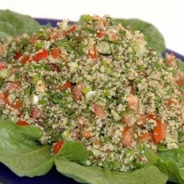Tabbooleh Salad (Parsley