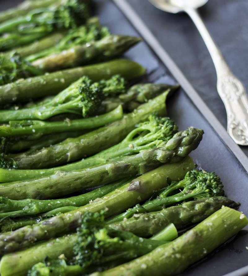 Tenderstem Broccoli and Asparagus