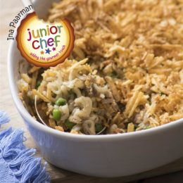 Tuna Bake with Chip Topping
