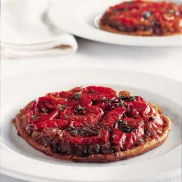 Upside Down Tomato Tart