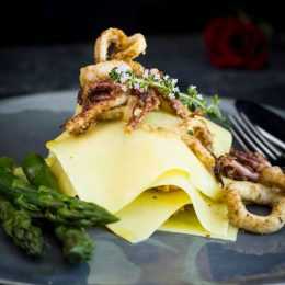 Seafood Pasta Stack