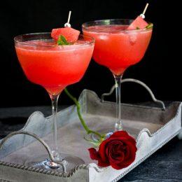 Sparkling Watermelon Cocktail