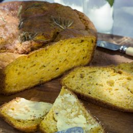 Butternut Bread with Rosemary