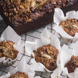Wholewheat Banana Loaf and Muffins