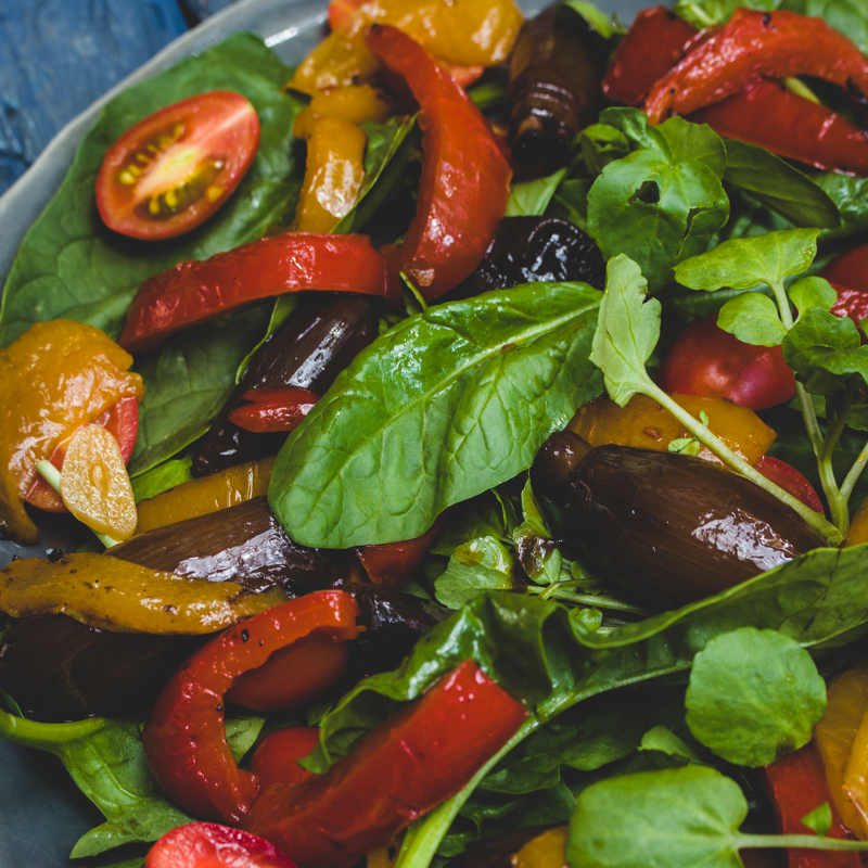 Char-grilled Vegetable Salad
