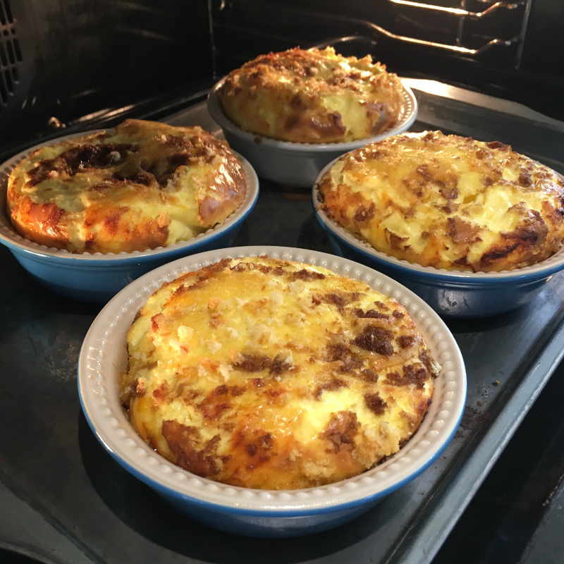 Char-grilled Shallot Quiche